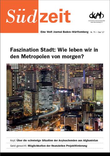 Titelbild Zeitschrift Südzeit - Titelthema